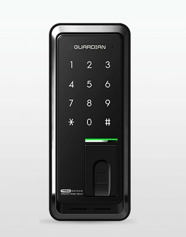 Fechadura digital porta de correr
