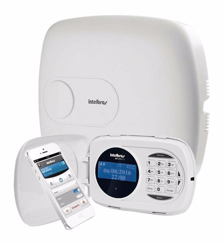 Instalação de alarmes e cameras