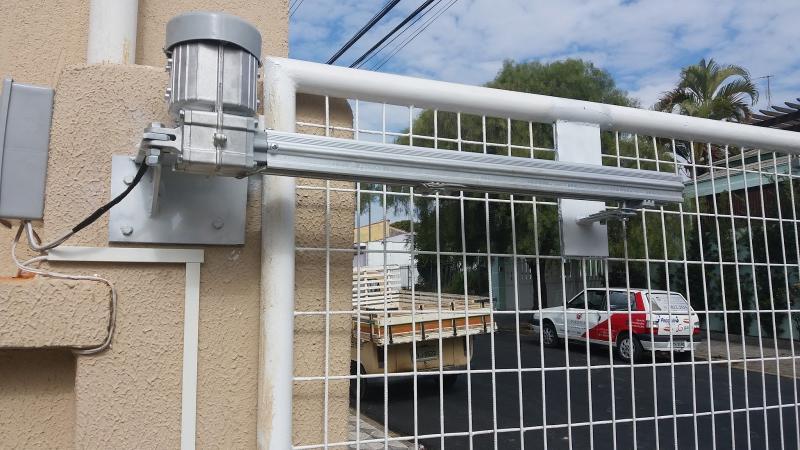 Instalação de portões automáticos