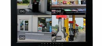 Display interativo cftv