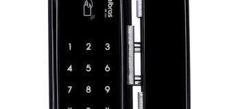Fechadura digital porta de vidro
